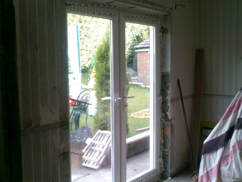 Patio Doors Supplied And Fitted By Hmc Joinery Building Belfast
